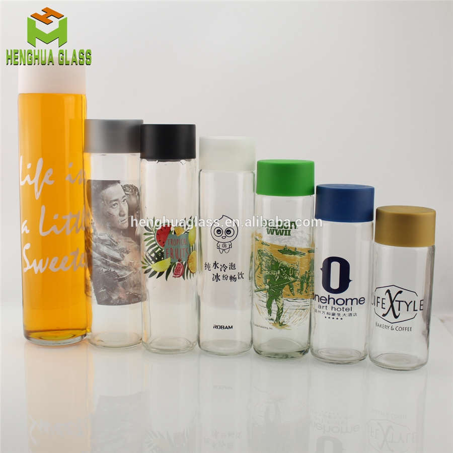 250ml 300ml 350ml 375ml 400ml 500ml 750ml 800ml voss water glass bottle