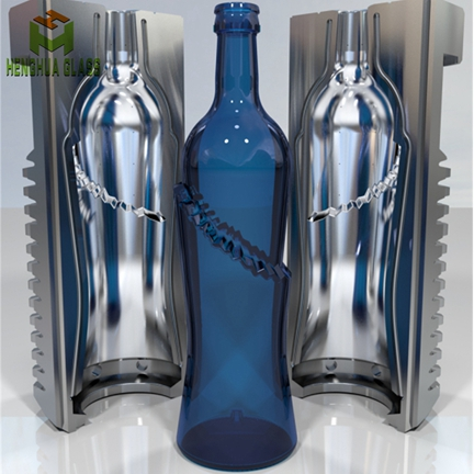 xuzhou henghua glass bottle factory custom glass bottle mould